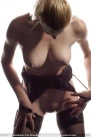 Nacktfotos von berühmten Hündin aus Schweiz
